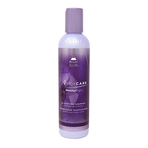 An 8oz bottle of Affirm MoisturRight Clarifying Shampoo
