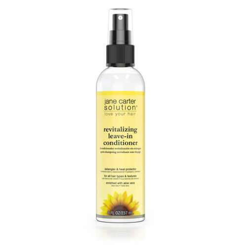 An 8oz spray bottle of Jane Carter Solution Revitalizing Leave-In Conditioner