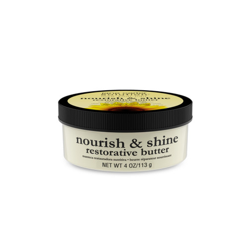 A 4oz jar of Jane Carter Solution Nourish & Shine Restorative Butter