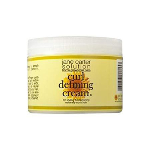 A 6oz jar of Jane Carter Solution Curl Defining Cream