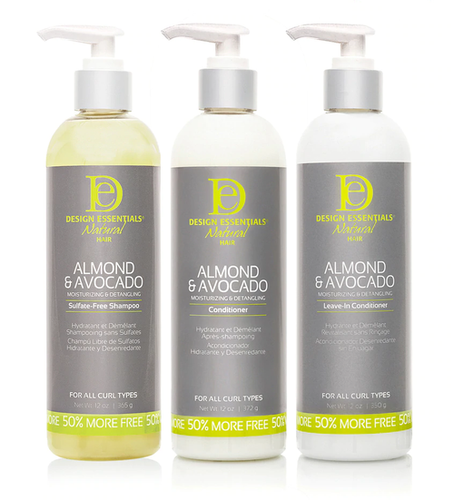 Design Essentials Almond & Avocado Moisturising Collection