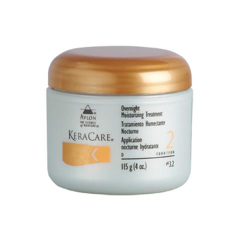 A 4oz jar of KeraCare Overnight Moisturizing Treatment