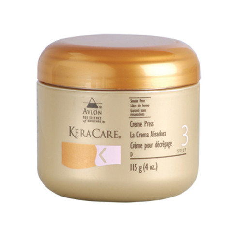 A 4oz jar of KeraCare Creme Press