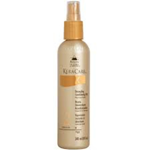 An 8oz spray bottle of KeraCare Detangling Conditioning Mist