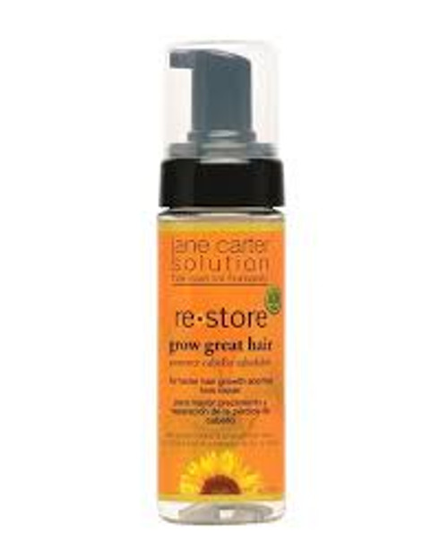 A 6oz spray bottle of Jane Carter Solution Restore Grow Great Hair