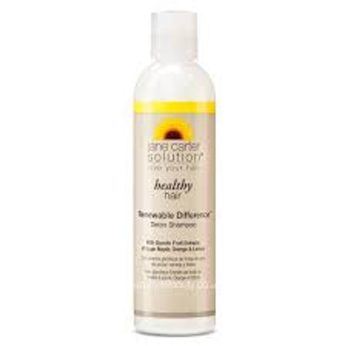 An 8oz bottle of Jane Carter Solution Healthy Hair Renewable Difference Detox Shampoo