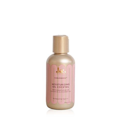 A 4oz bottle of KeraCare Curlessence Oil Cocktail