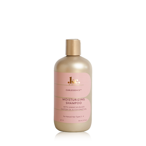 A 12oz bottle of KC by KeraCare Curlessence Moisturizing Shampoo