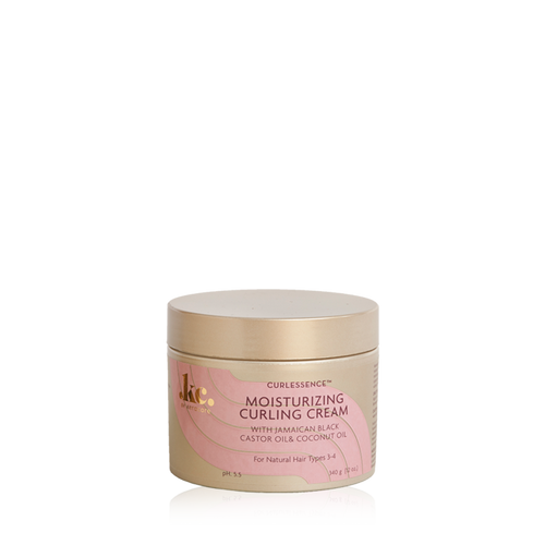 An 11.25oz bottle of KeraCare Curlessence Moisturizing Curling Creme