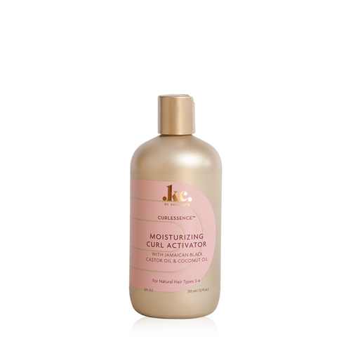 A 12oz bottle of KeraCare Curlessence Moisturizing Curl Activator