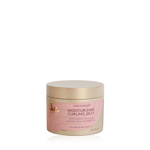 An 11.25oz jar of KeraCare Curlessence Moisturizing Curling Jelly