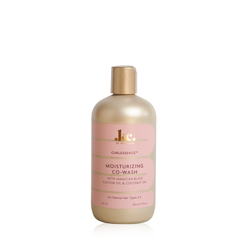 A 12oz bottle of KeraCare Curlessence Moisturizing Co-Wash