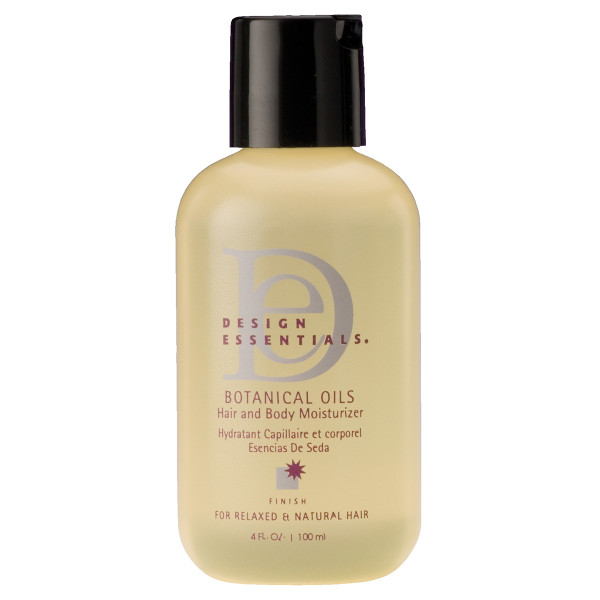 4oz bottle of Design Essentials Botanical Oils, perfect for natural hair or dry skin.