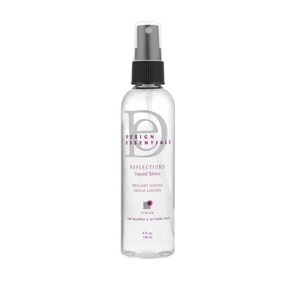An 8oz bottle of Design Essentials Reflections Liquid Shine