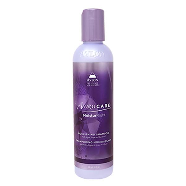 An 8oz bottle of Affirm MoisturRight Nourishing Shampoo