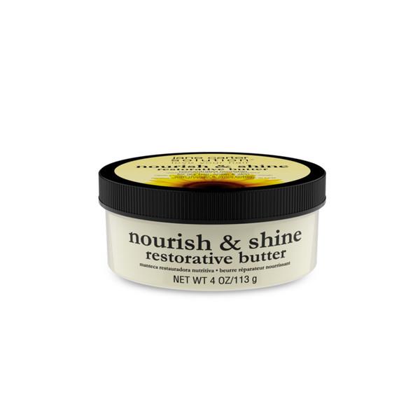 A 4oz jar of Jane Carter Solution Nourish & Shine Restorative Butter