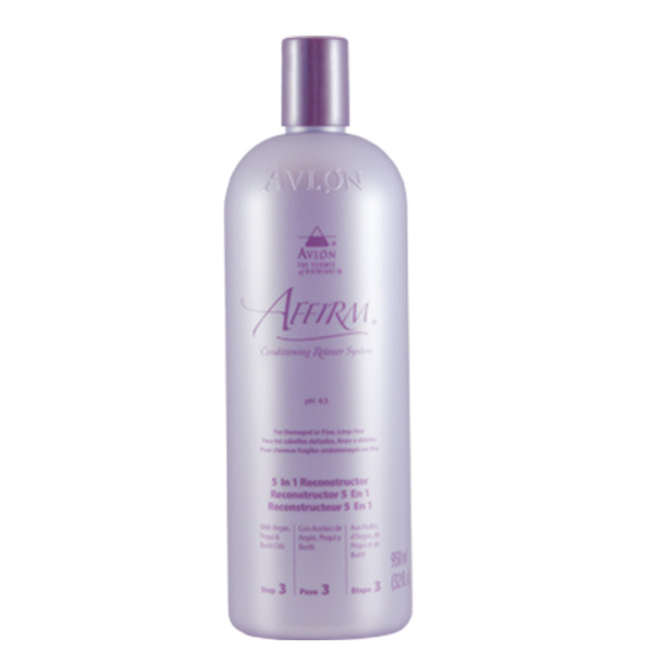 A 16oz bottle of Affirm 5-in-1 Reconstructor