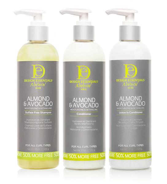 Design Essentials Almond & Avocado Moisturising Collection