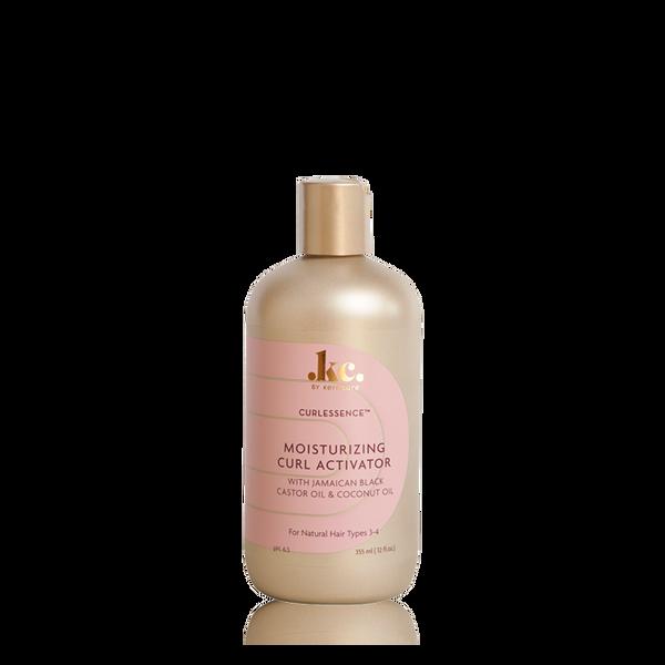 A 12oz bottle of KeraCare Curlessence Moisturizing Curl Activator