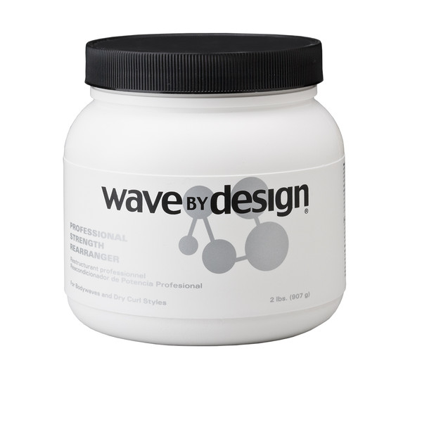 A 32oz jar of Wave by Design Professional Strength Rearranger