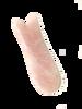 rose quartz gua sha fish shape