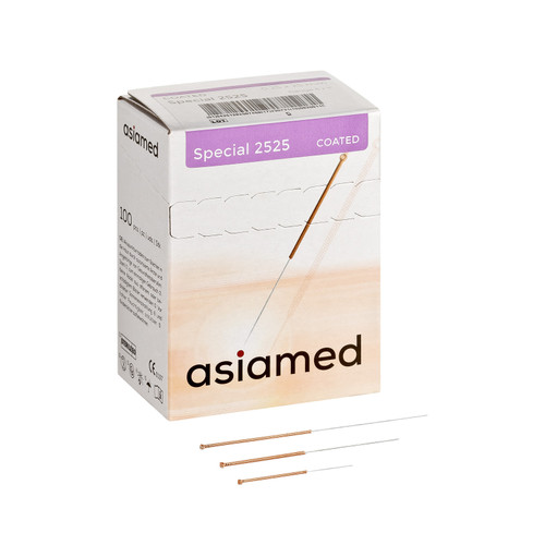 Asiamed Special Copper Handle acupuncture needles with no guide tube
