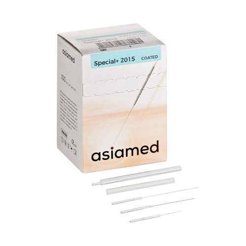 Asiamed Special+ Pipe Handle Coated Needle with Guide Tube for smooth and pain free insertion