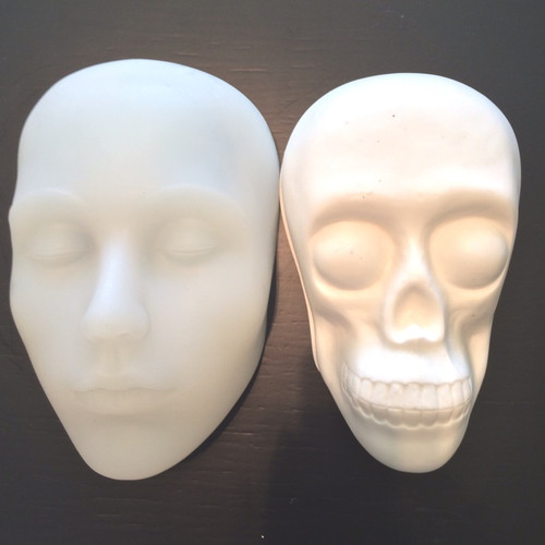 silicone face practice model