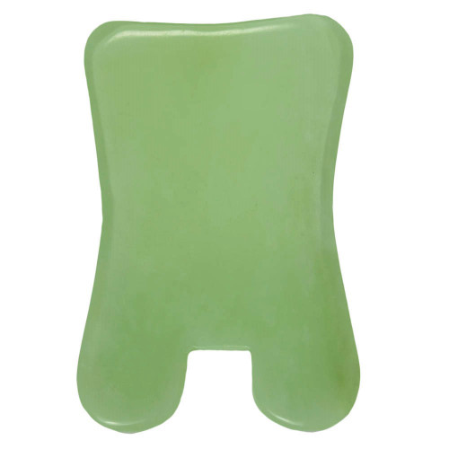 gua sha jade rectangle
