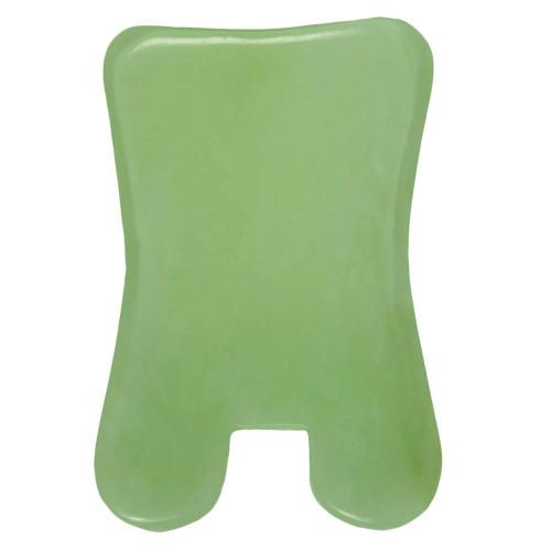 gua sha jade rectangle