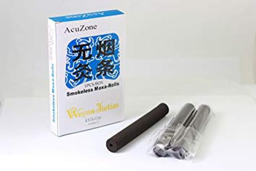 smokeless hollow center moxa sticks 5 sticks per box made of charcoal