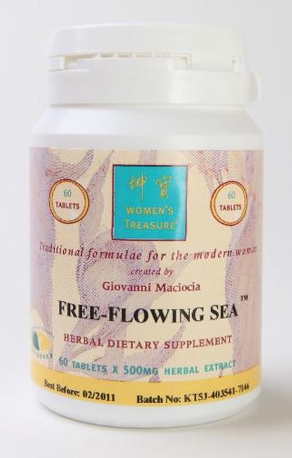 free flowing sea