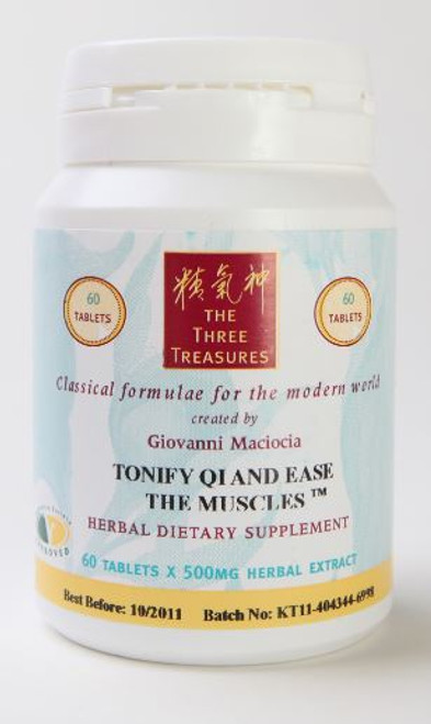 tonify qi and ease the muscles