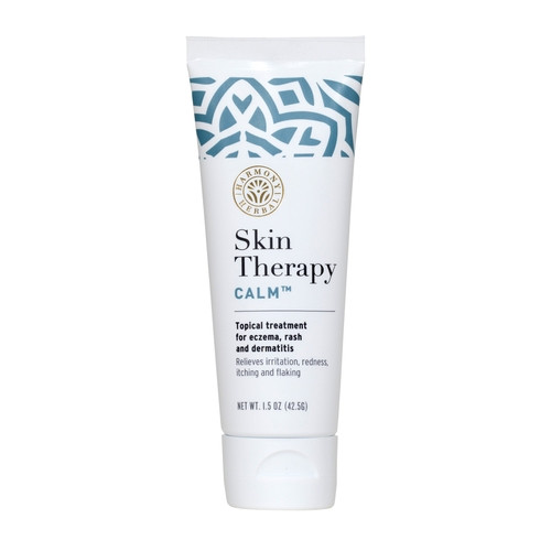 Skin Therapy CALM™ topical cream for the symptoms of dermatitis, eczema, rosacea, poison oak and poison ivy.- Thumbnail