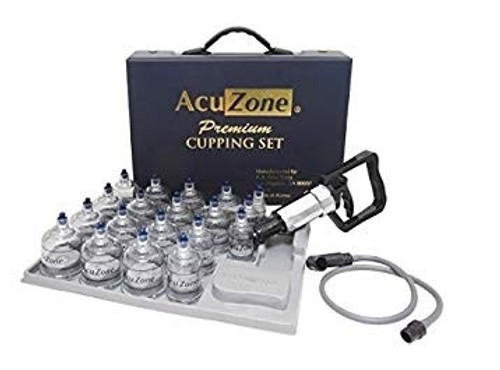 Premium Quality Cupping Set W/ 19 Cups