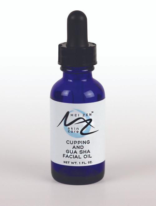 mei zen cupping and gua sha facial oil