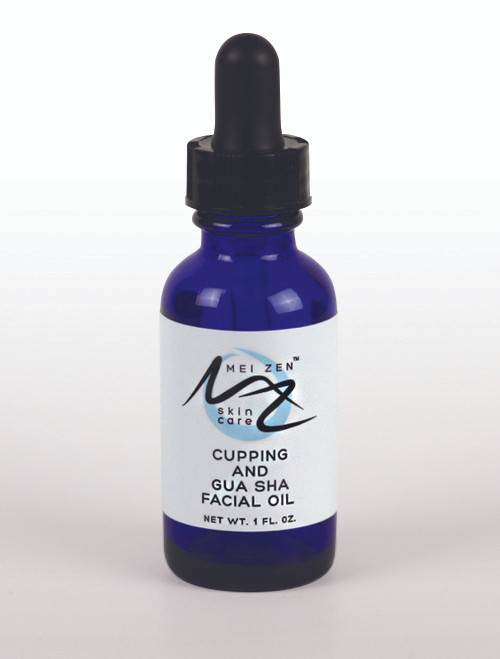 mei zen cupping and gua sha facial oil