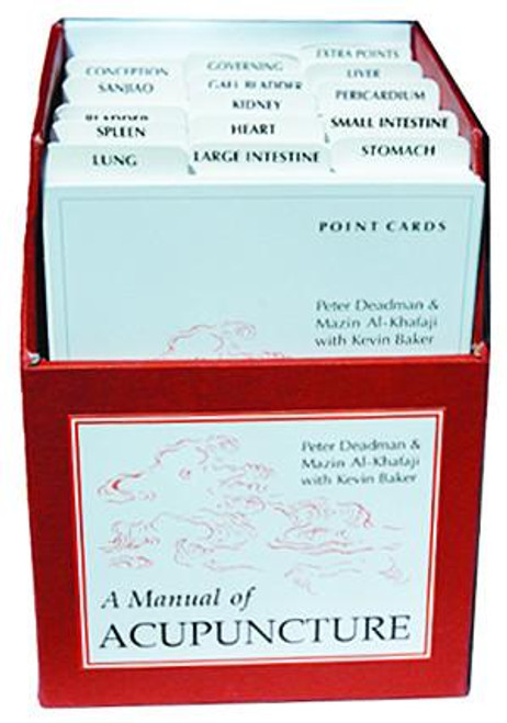a manual of acupuncture point cards