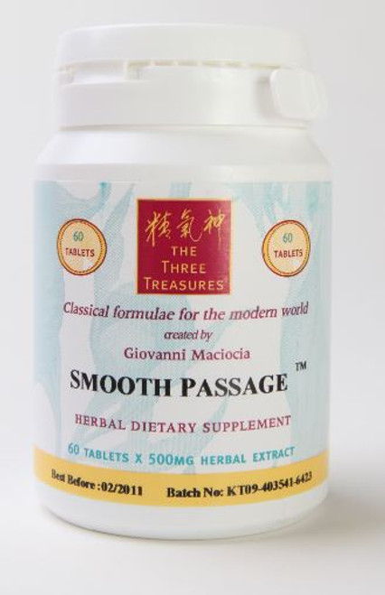 smooth passage herbal tablets from the Three Treasures line created by Giovanni Maciocia -thumbnail