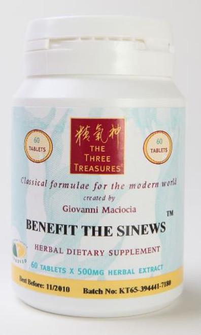 benefit the sinews