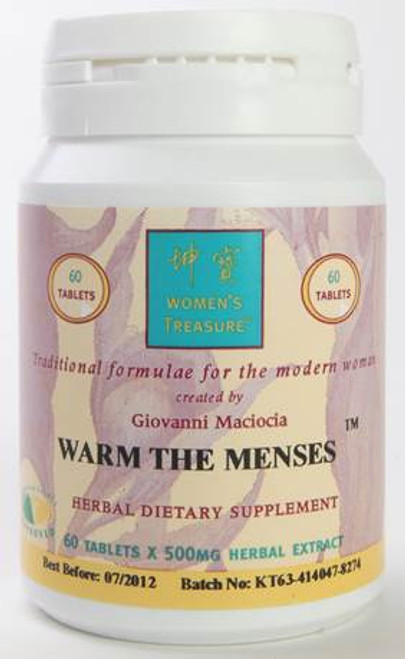 Warm the Menses (60 tabs)