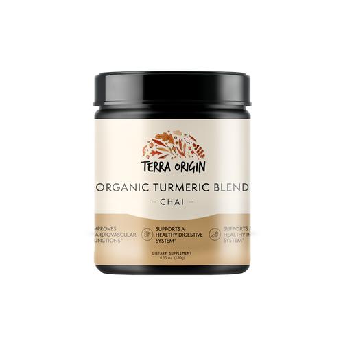 organic turmeric powder chai