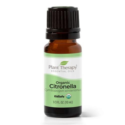 plant therapy 10ml organic citronella essential oil