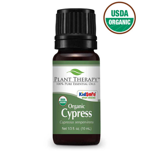 plant therapy 10ml cypress organic essential oil