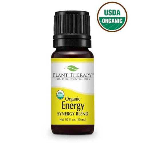 plant therapy 10ml energy synergy blend organic