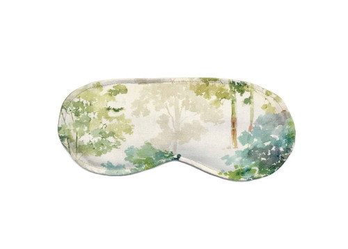 Soothing Eye Pillow with Removable Cover Peaceful Azure Pattern