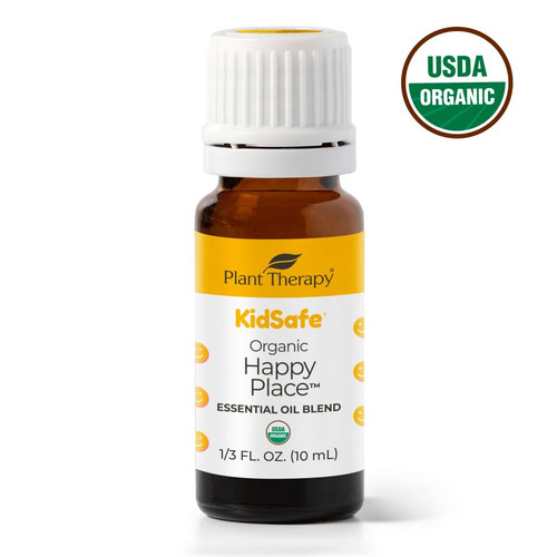 plant therapy 10ml happy place organic essential oil synergy blend kidsafe