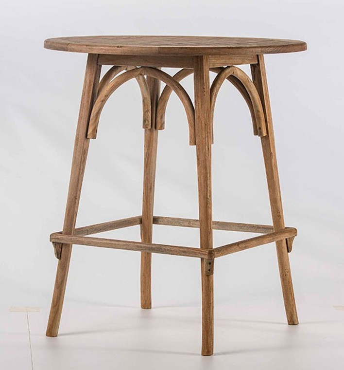 Bistro Table, Teak wood indoor outdoor table