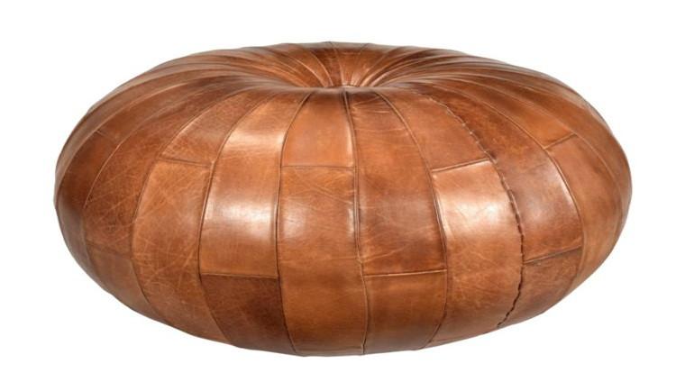 Alladins Leather Puff