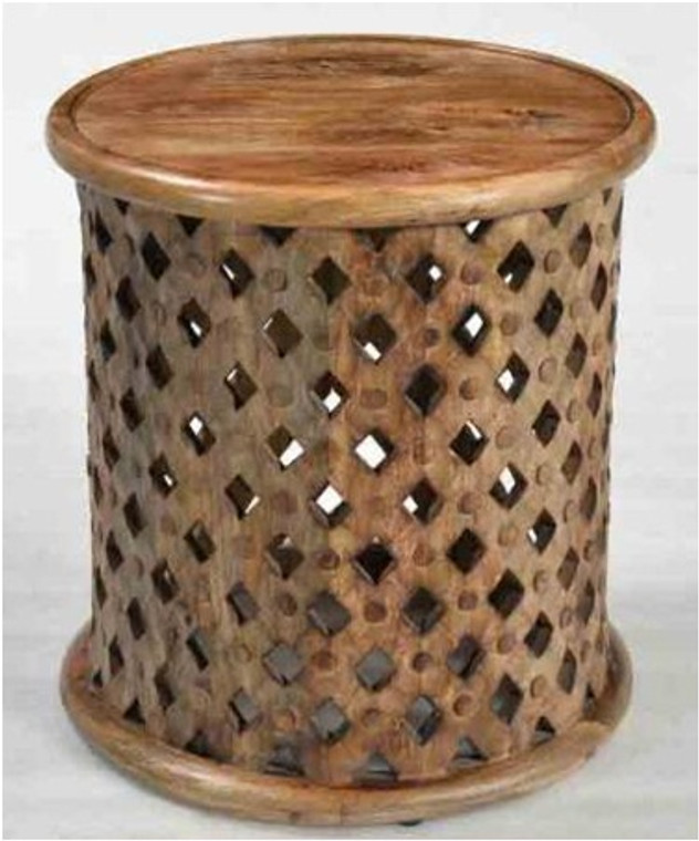 Art Wood Stool
